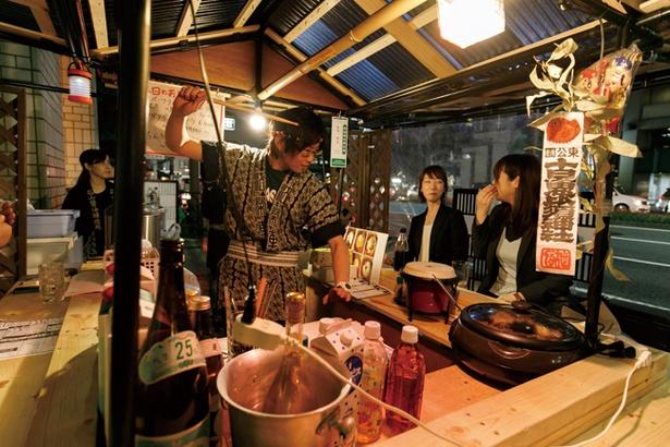 フグ料理やアゴダシ料理店など、専門店が多い「天神」エリア