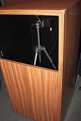 撮影する機械はこんな感じ