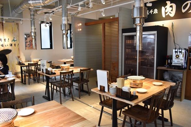 北海道産のサフォークラム肉を提供するジンギカン店「千歳ラム工房 やまじん」が九州初出店