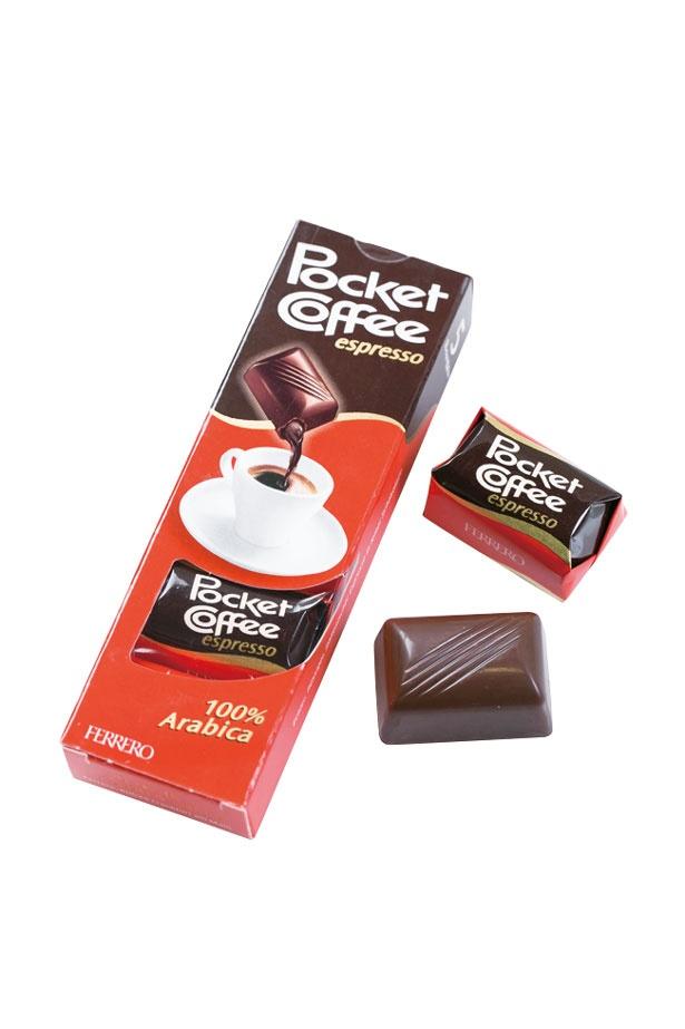 コーヒー好きにおすすめのチョコレートポケットコーヒー T5(345円)