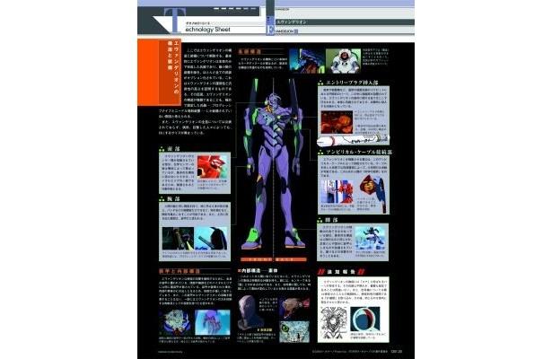 【テクノロジーシート】エヴァを運用するための高度な技術力を科学的に考察・解析