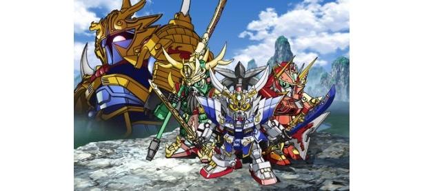同時上映される「超電影版SDガンダム/三国伝 Brave Battle Warriors」