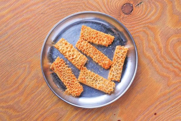 「ハチノス」(756円)。シャクシャクと独特の食感が楽しめる第2胃/デンスケ 天満店