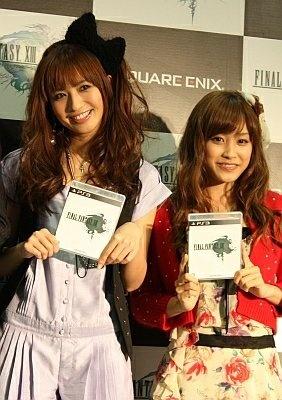 カウントダウンには、FF好きの優木まおみ&高橋愛の姿も!