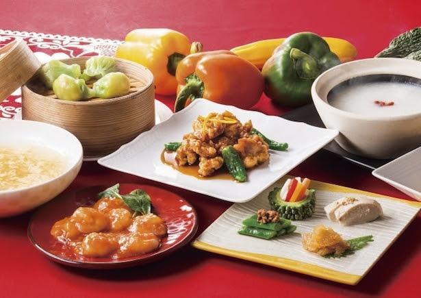 【写真を見る】中国料理「チャイニーズ・テーブル」