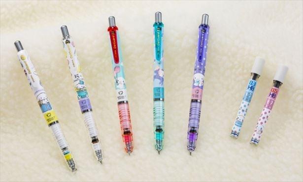 「シナモロール×デルガード」のゆめかわシャーペンが数量限定販売