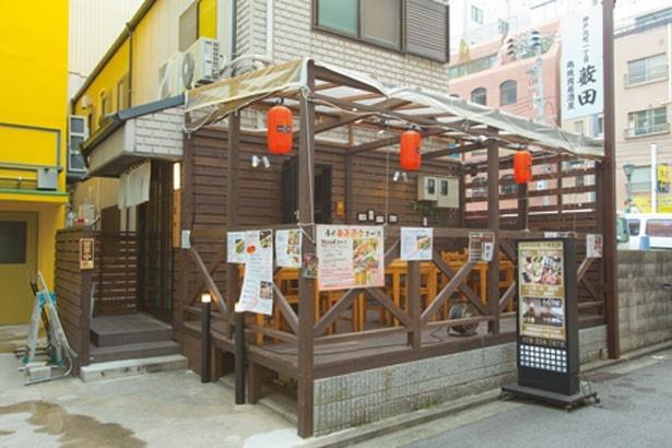 古民家を再生した店舗は、元町商店街のすぐそば/神戸元町通1丁目薮田