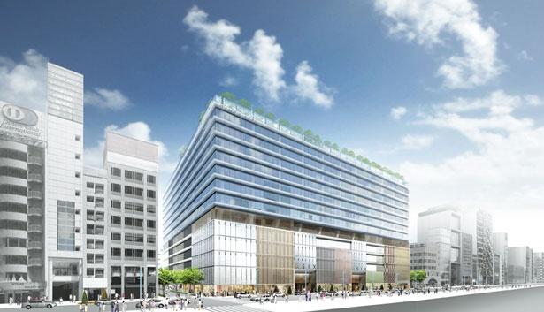 銀座の中央通りにオープン。寿司や天ぷらなどの専門店が連なる高級フードホールも登場