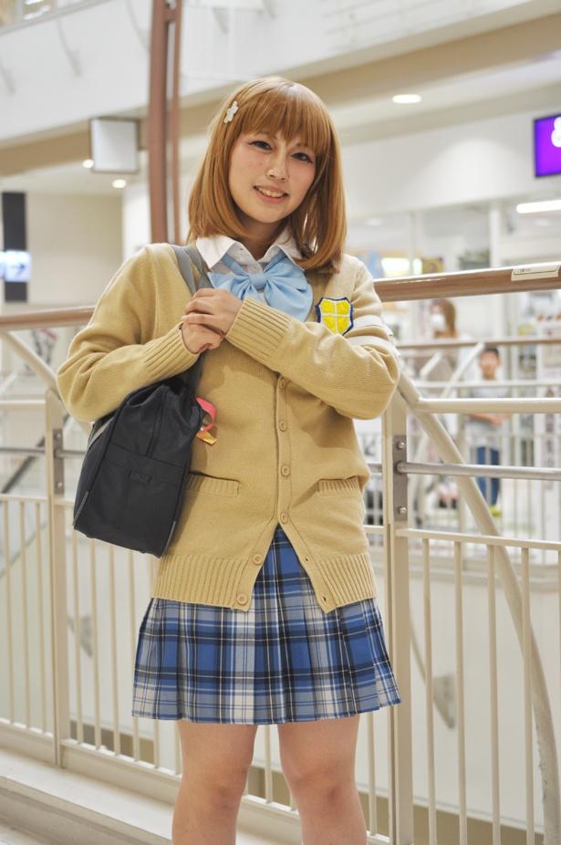 「アイドルマスター シンデレラガールズ」の三村かな子に扮したFyuさん