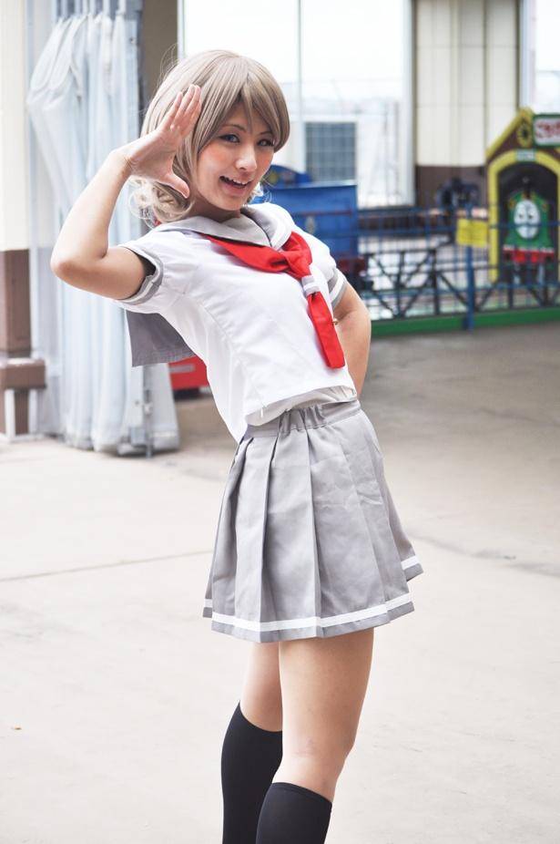 「ラブライブ!サンシャイン!!」の渡辺曜に扮した花崎彩香さん