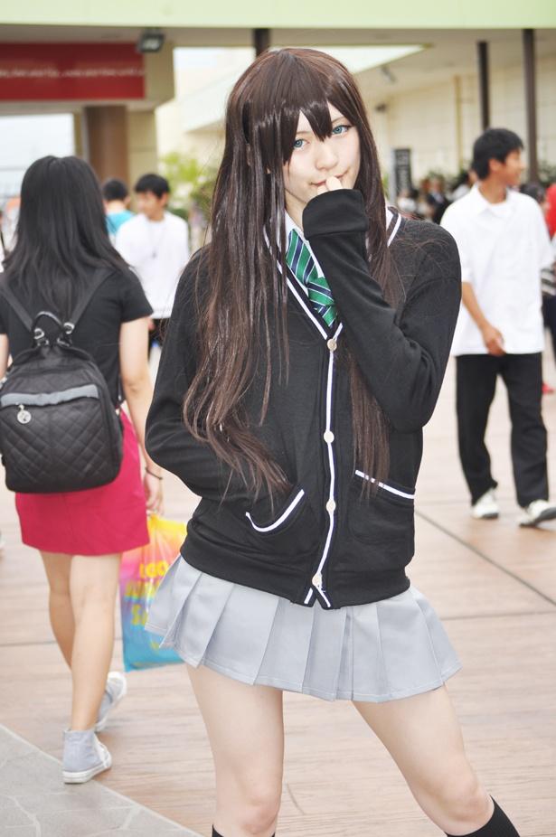 「アイドルマスター シンデレラガールズ」の渋谷凛に扮した夢月ゆきあさん