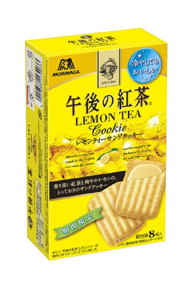 午後の紅茶<レモンティーサンドクッキー>(8個・税抜200円)