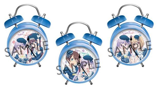 青葉たちのボイス入り時計も!テレビアニメ「NEW GAME!!」の限定グッズが予約受付中
