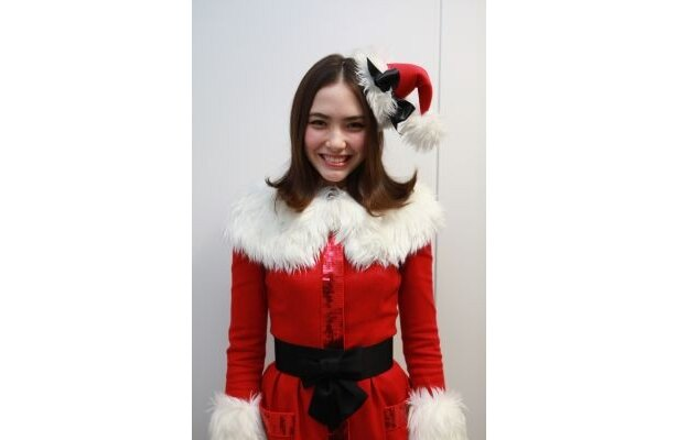 サンタ姿がお似合い!
