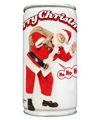 """日本で唯一の公認サンタクロース・パラダイス山元さんの""""サンタ缶""""も"""