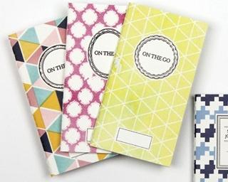 オリジナルデザインのダイアリー やノートが充実、お気に入りを発見しよう