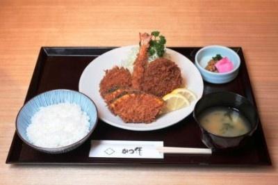 盛り合わせB定食¥1400