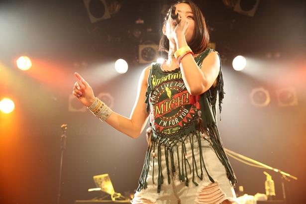"""MICHI、初ツアー東京公演で""""MICHIんちゅ""""に最高の笑顔と感謝を届ける"""