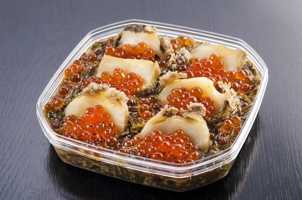 食品部門では、岩手県よりエントリーをしている、三陸釜石「中村家」のベストセラー商品「三陸海宝漬」(有限会社中村屋)が金賞を獲得