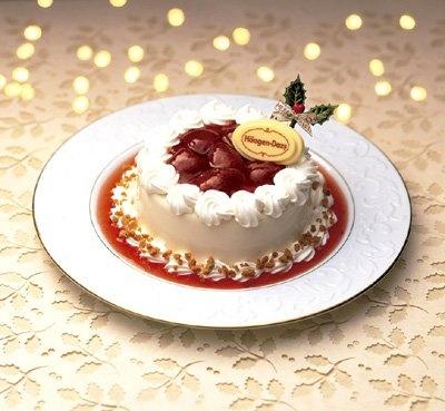 現在、ハーゲンダッツではクリスマスケーキの予約&販売実施中