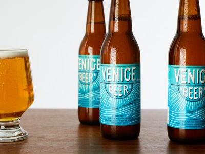 ロンハーマンとのコラボレーションビール「ベニスビール」