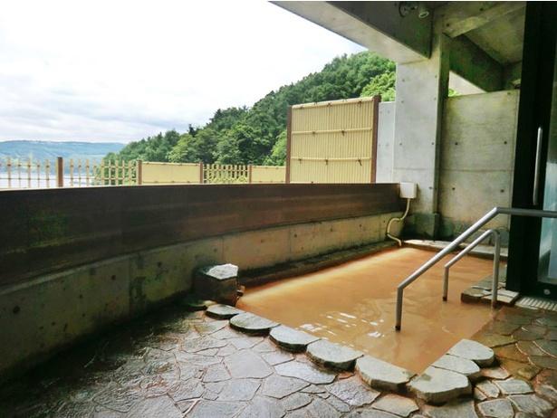 日本海ふるびら温泉しおかぜ/露天風呂