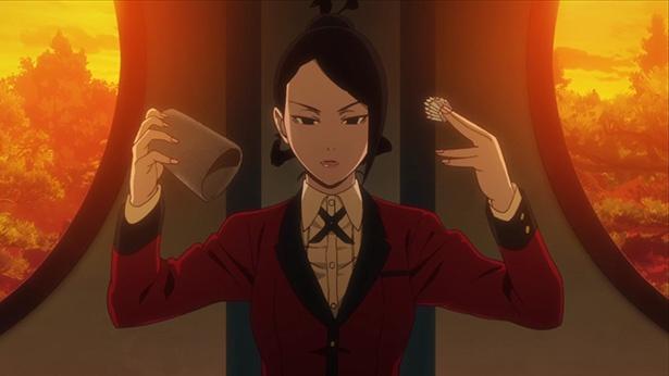 「賭ケグルイ」第3話先行カットが到着。「生か死か」で百合子と勝負