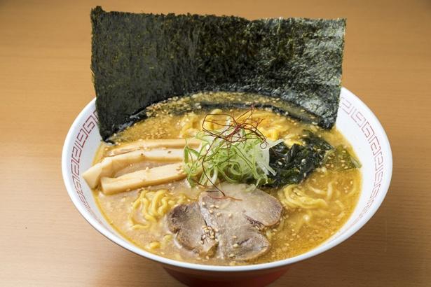 「さろまラーメン」750円は、素朴な味わいのスープが特徴。