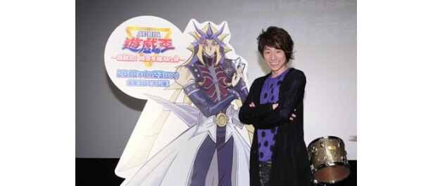 映画「遊☆戯☆王」で主人公たちの強敵役で声優を務めた田村淳