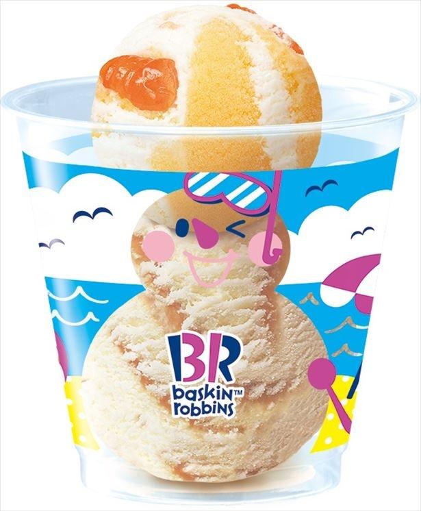 「真夏の雪だるま大作戦!」限定オリジナルカップ