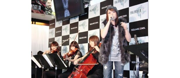 菅原紗由理がテーマソング「君がいるから」を熱唱
