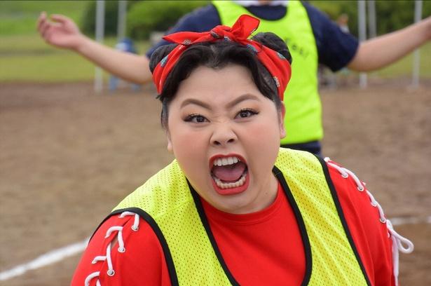 7月18(火)、渡辺直美主演ドラマ「カンナさーん!」(TBS系)が放送開始! 渡辺はパワフルなママ・カンナを演じる