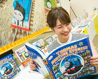原鉄道模型博物館(神奈川県横浜市)では8月31日(木)まで、「きかんしゃトーマス スペシャルギャラリー」を開催中。やって来たのは「C CHANNEL」クリッパー(投稿者)の中島恵美さん