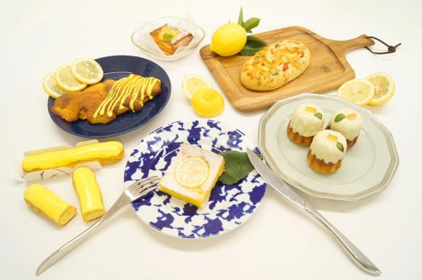 夏にぴったり!レモンを使用した爽やかな商品が勢ぞろい