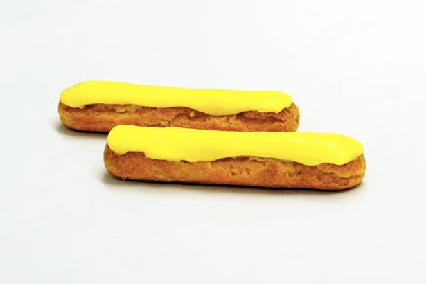 【写真を見る】レモンの酸味が際立つ「エクレアシトロン」(税抜330円)。レモン好きはぜひお試しあれ!