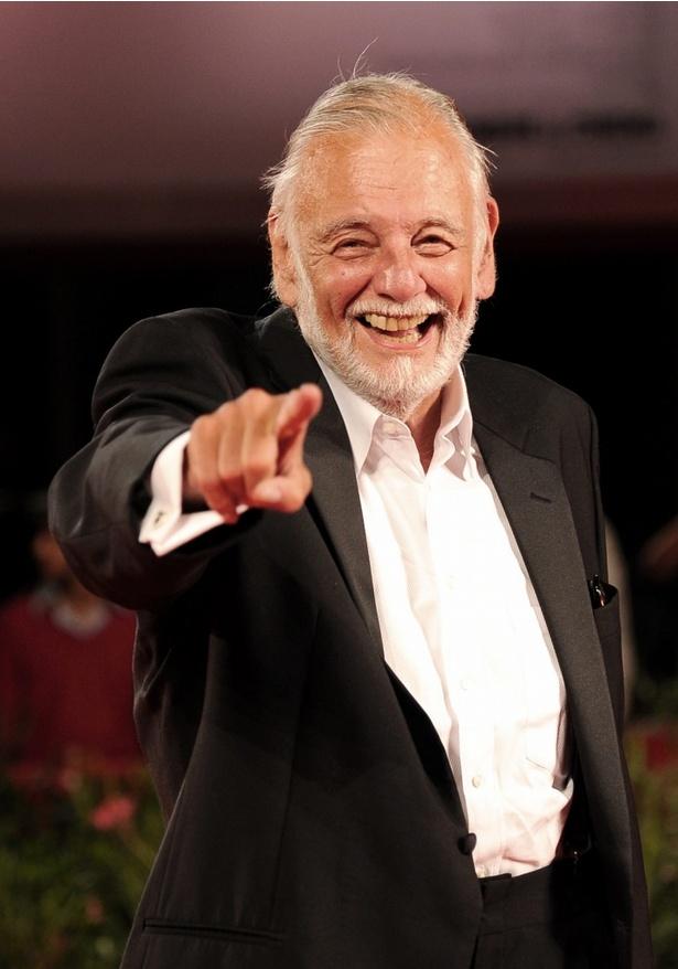 2009年のヴェネツィア国際映画祭にて。柔和な表情に人柄がにじみ出ている