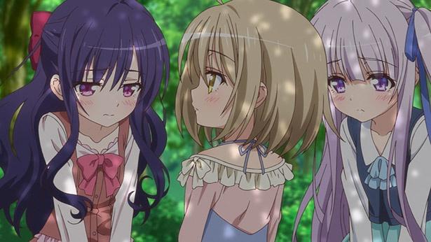 「天使の3P!」第3話先行カットが到着。少女たちが傷つく前に…