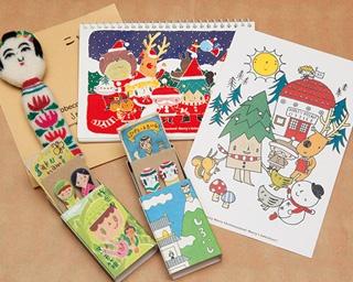 「メリーメリークリスマスランド dia」で人気の「せんだいぶすブローチ」(800円)