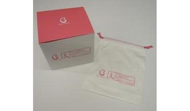 ピンクに変更されるオリジナルパッケージ