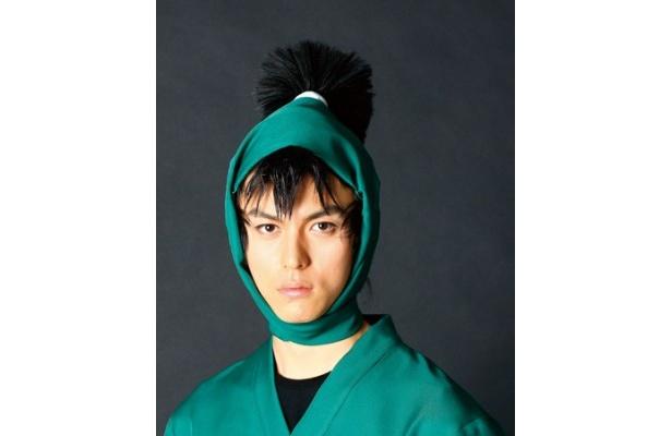 忍術学園六年生で今回の主演となる倉満留三郎役の片岡信和