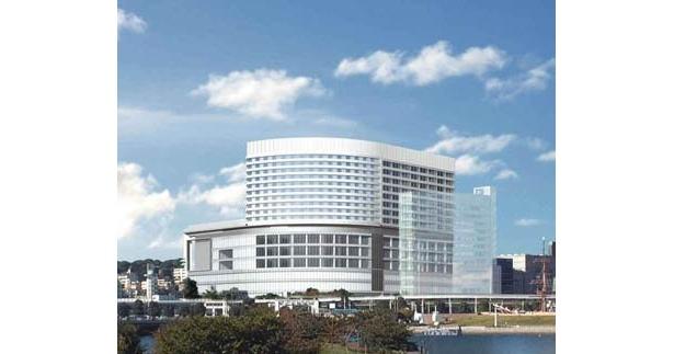 2010年3月19日(金)にオープンする横浜みなとみらい21地区に開発予定の大型複合施設「TOCみなとみらい」