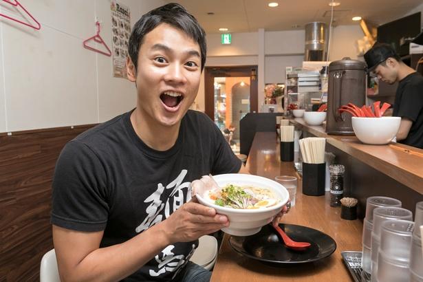 「食べるたびに確実にクオリティが上がってきています。次に食べるのが楽しみ!」と、横山アナ