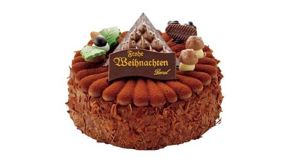 【その他クリスマスケーキ画像はコチラ!】限定20個!ガナッシュクリームがおいしいチョコケーキ
