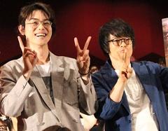 菅田将暉、アニメ版新八役の阪口大助から「完璧だった」と絶賛されて大感激!