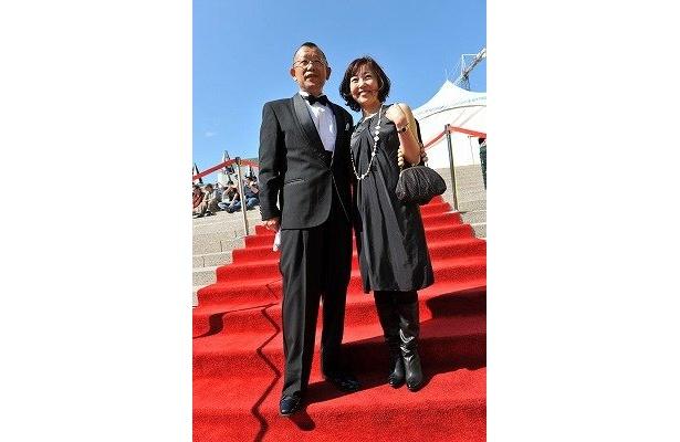 美人で才能も溢れる『ディア・ドクター』の西川美和監督と、主演の笑福亭鶴瓶