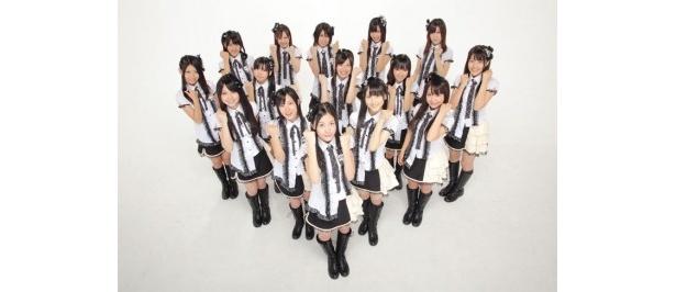 SKE48 チームSの15人。「名古屋一揆」公演では、山下もえが卒業する