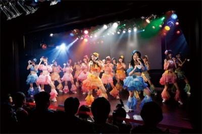 SKE48劇場を飛び出して、ZeppNagoyaのチームS、チームKⅡ、研究生の総勢46人が大集合!