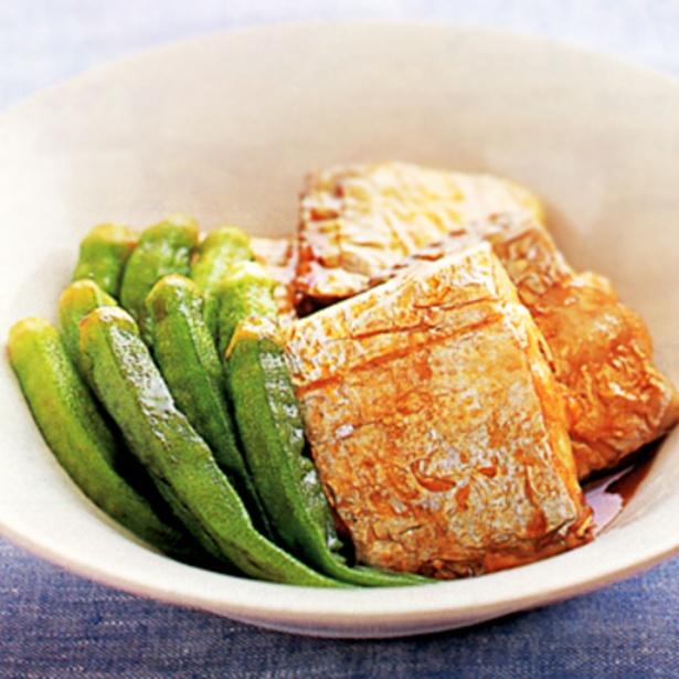 【関連レシピ】夏にぴったりの煮物!「たちうおとオクラの照り煮」