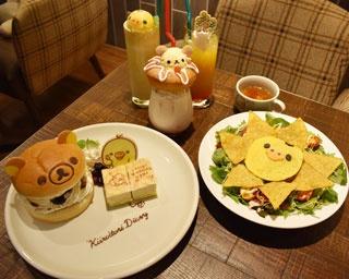 「TOWER RECORDS CAFE(タワーレコードカフェ) 福岡天神店」(福岡市中央区)では、7 月20 日(木)から9 月10 日(日)まで、リラックマのコラボカフェがオープン