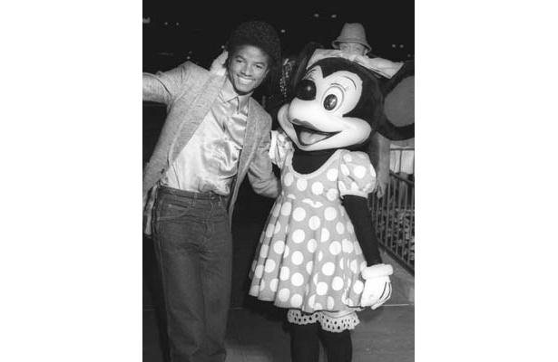 ディズニー25th記念(1979年)のマイケルとミニー